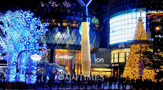 싱가포르 '크리스마스 인 더 트로픽스' 1월6일까지 진행