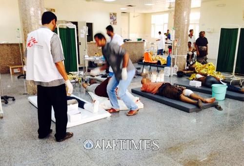"""""""예멘 분쟁 피해 지역, 의료 물품·의료진 지원 불가상황"""""""