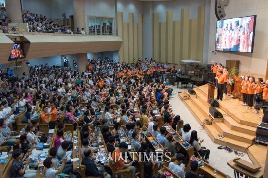 춘천한마음교회 수련회, 초교파 여름수련회로 자리매김