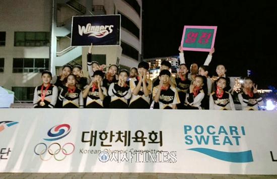 전북치어리딩 위너스, 전국 스포츠클럽대회 1위
