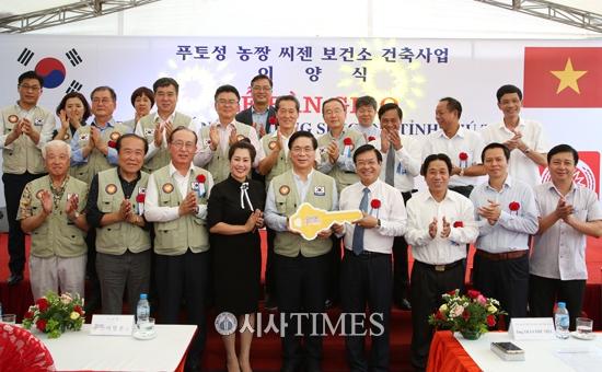 굿피플, 베트남 닌빙성 유치원 준공식 개최