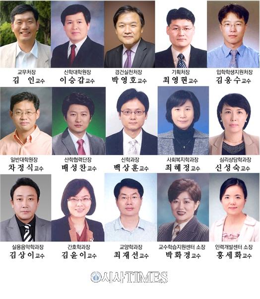 한일장신대, 교무처장에 김인 교수 임명