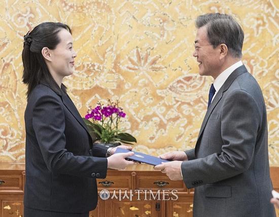 """與 """"방북 제안 환영"""" vs 野 """"비핵화 전제 없는 방북 안돼"""""""