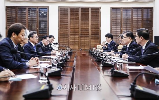 """남북정상회담 4월 말 개최…北 """"체제안전 보장되면 핵 보유 이유 없다"""""""