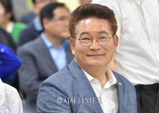 송영길 국회의원, 더불어민주당 대표 후보로 '최적' 당내 여론 거세져