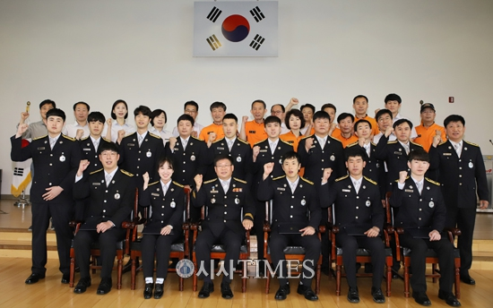 서울 은평소방서, 신임소방관 5명 합류