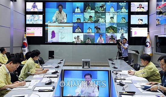 """행안부, '범정부 폭염대책본부' 가동…김부겸 """"폭염피해 차단 총력"""""""