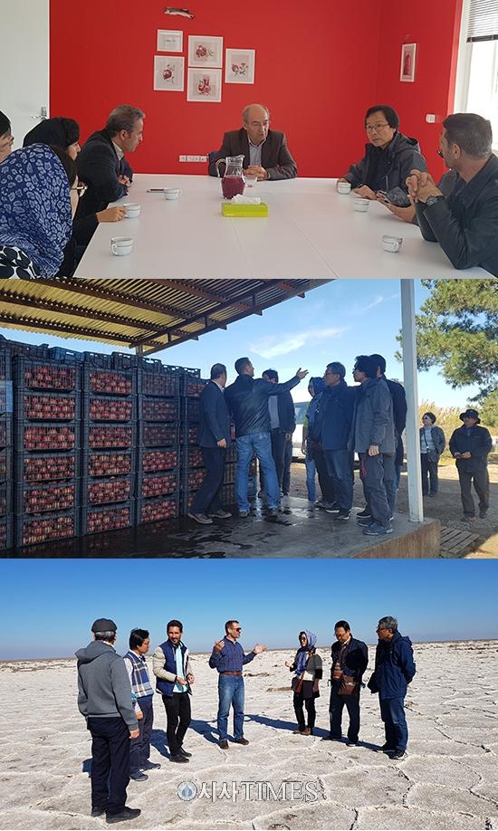 제주자원식물황칠사업단, 이란 농식품산업 관련 기관과의 상호교류