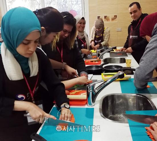주이집트 한국문화원, 한식강좌 오는 27일까지 카이로서 개최
