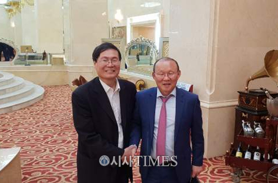 베트남 4차산업혁명 앞장서는 정창덕 송호대 총장, 박항서 감독과 만남 눈길