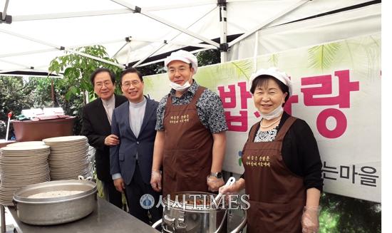 신생교회·(사)해돋는마을, 서울역 자활과 자립을 위한 특별 집회 4일간 진행