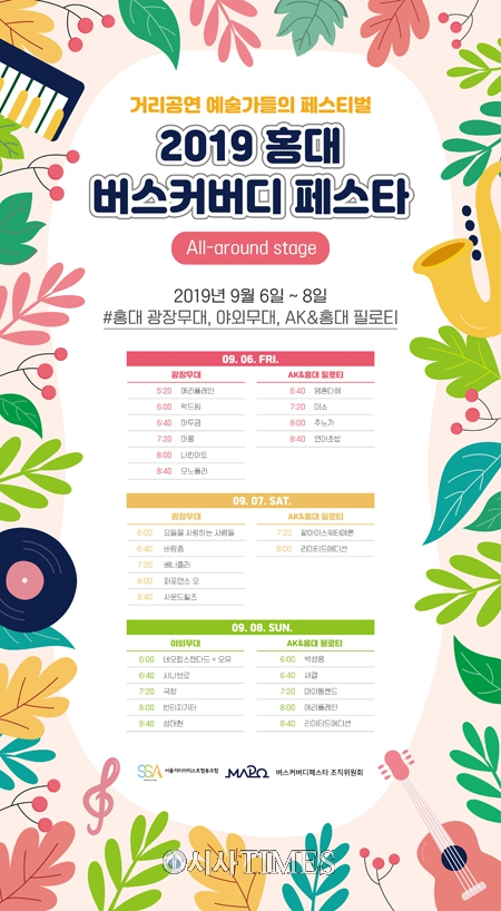 서울거리아티스트협동조합, 홍대 '버스커버디페스타 올어라운드' 개막