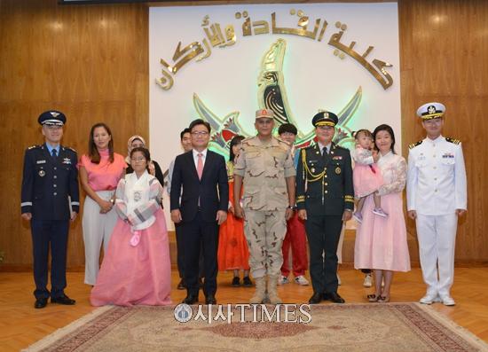 주이집트 한국문화원, 이집트 군인 대상 한국문화 홍보행사 개최