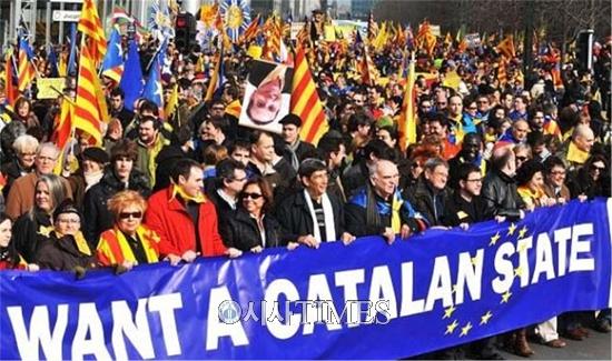 카탈루냐의 독립추진과 북방영토(간도)회복