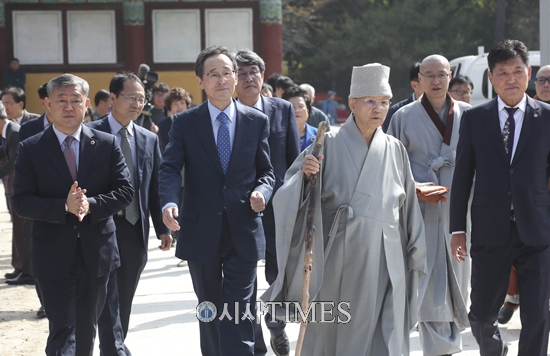 [포토] 금산사 개산 제1420주년 모악산문화제 개최