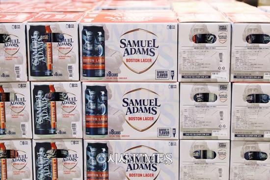 미국 수제맥주·사무엘아담스 보스턴 라거, 이마트 트레이더스 전 점에서 본격 출시