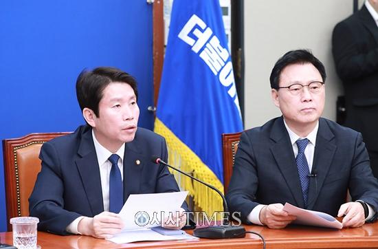 """이인영 """"황교안 대표는 극단적인 오기 정치 멈춰라"""""""