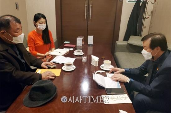 """김홍균 회장-도종환 의원, """"코로나 19, 여행의 많은 트렌드를 바뀌어 놓았다"""""""