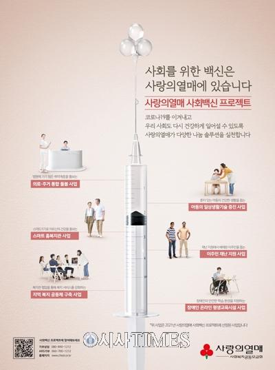 사랑의열매, 120억원 규모 '사회백신 프로젝트Ⅱ' 공모시작